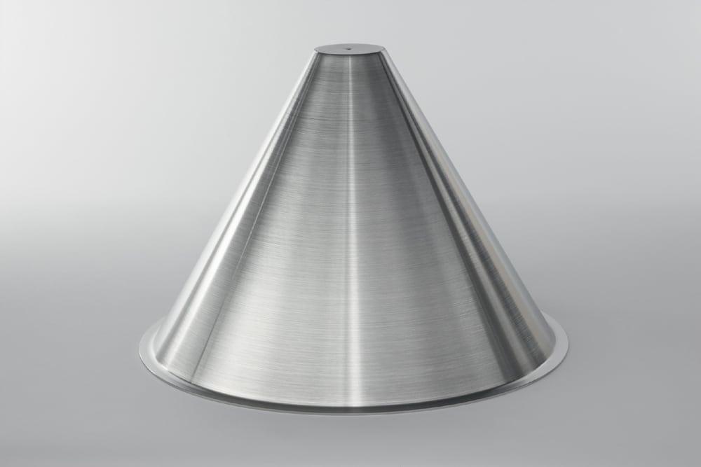 tiefziehteile metall metall umformen tiefziehen blech metalltrichter kegel metall