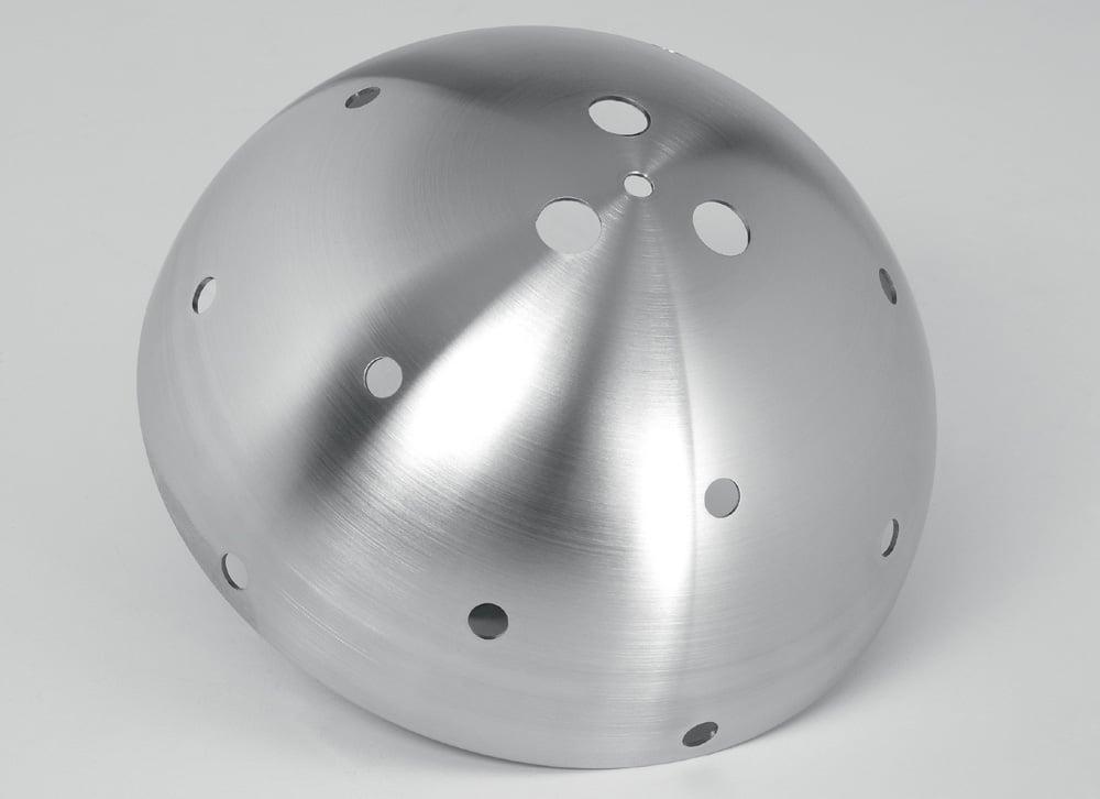 tiefziehteile edelstahl metall stanzen halbkugel metall