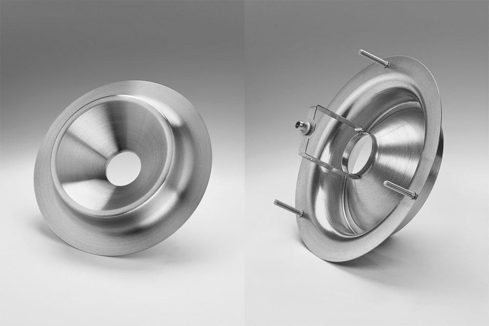 halbkugel metall tiefziehteile hersteller stanzen metall blechumformung biegen material
